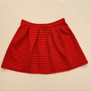 3/$25 Francesca's Collection striped skirt